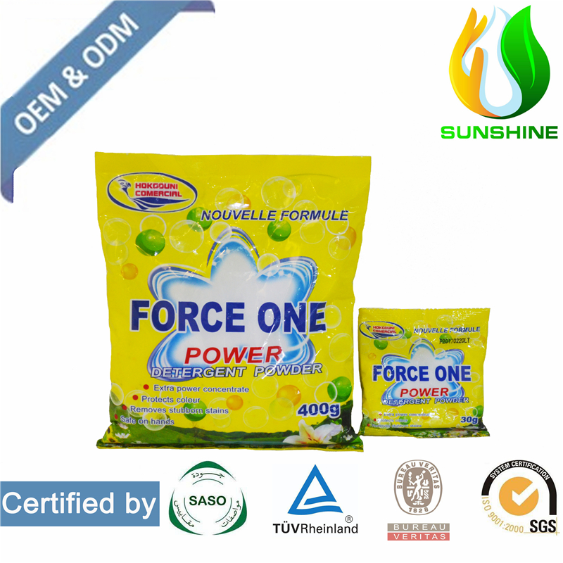 High effective and lemon fresh OEM/ODM detergent laundry detergent and detergent powder in box or in bag