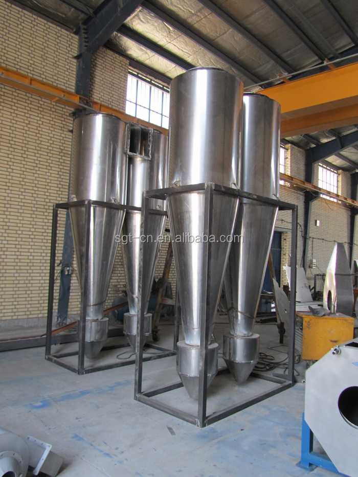 uniquely adopt ceramics cycle tube desanding cyclone for starch processing