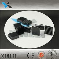6063 pin fin heat sink aluminum