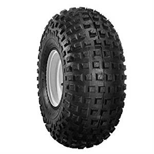 Duro HF240 Knobby Tire - Front/Rear - 145/70-6 , Position: Front/Rear, Tire Size: 145x70x6, Rim Size: 6, Tire Ply: 2, Tire Type: ATV/UTV, Tire Application: Sport 31-240B06-145A by Duro