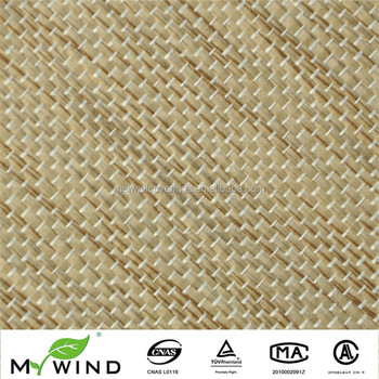 Natural Reed Fabric Beige Living Room Wallpaper For Philippines Home Decor And Luxury Curtain Design