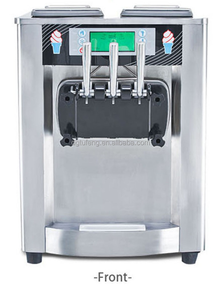 Wholesale price Ice Cream Machine With 2+1 Mixed Flavors