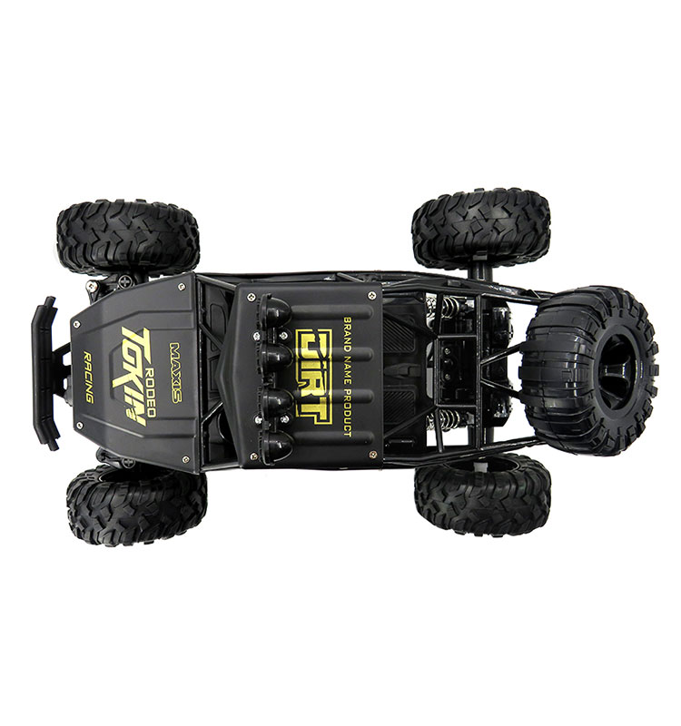 6. 6026E_Black_2.4G_4WD_Off-Road_Buggy_Rc_Climbing_Car_Remote_Control_Alloy_Car