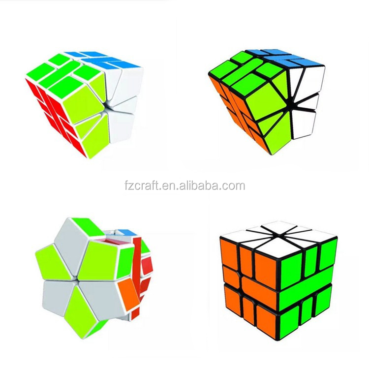 Abnormity Ghost Cube Intelligence Stickerless Speed Puzzle Magical Cube