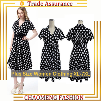 067dae425f0 5014  50s Rockabilly Petticoat Polka Dot Women Causal Summer Dresses  Vintage Swing Retro Party Maternity
