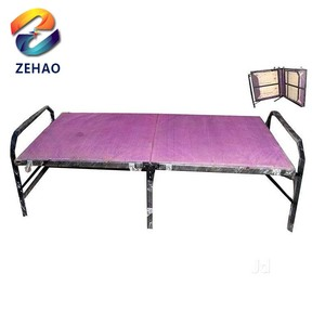 Durable new style metal sets parts folding bed