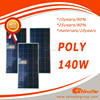 1kw solar panel kit poly 140W Small Size Solar Panel for solar panel 10000w