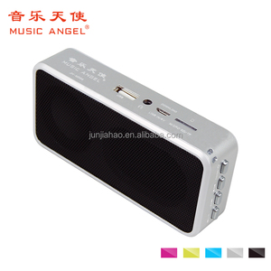 Music Angel aluminum laptop U disk lound power speaker