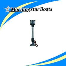 foldable dual mount anchor stern light