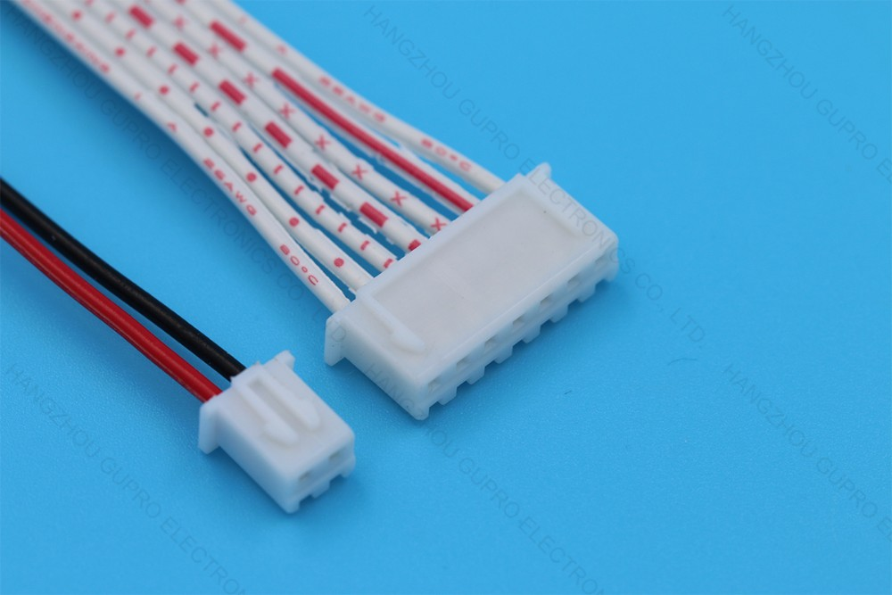 Jst 2.54mm Xh 3 Pin Male Female Wire Connector - Buy 3 Pin Male ...