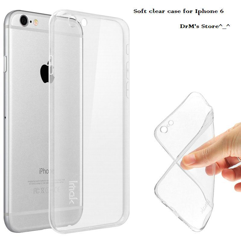 iphone 6 transparent gel case