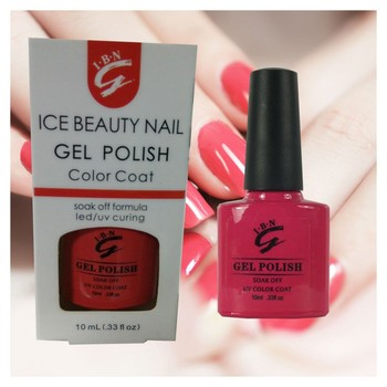 2019 IBN Nail gel polish OEM/ODM accepted label your logo