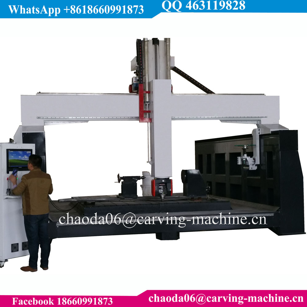 5 Axis CNC Router For Wood Working, 5 Axis CNC Router 2000 x 6000