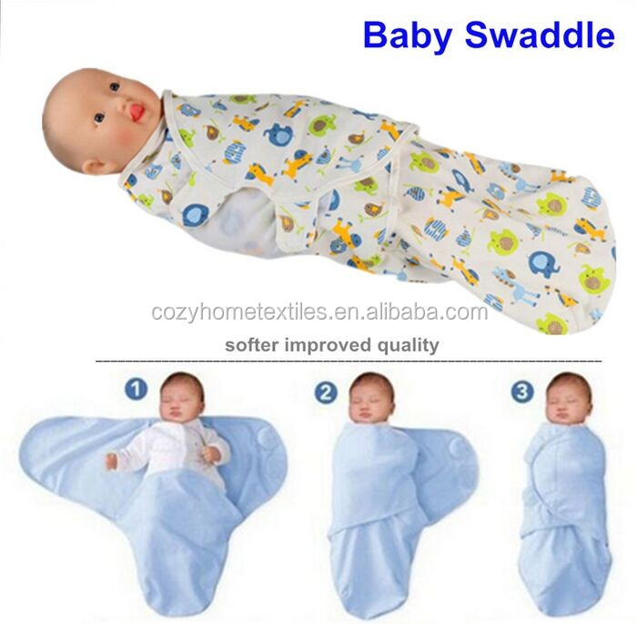 2017 Best Baby Shower Gift Newborn Infant Swaddle Wrap Baby Swaddling Sleeping Bag Blanket