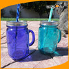 BPA Free Acrylic Plastic Mason Jars with Handles Wholesale Factory Price