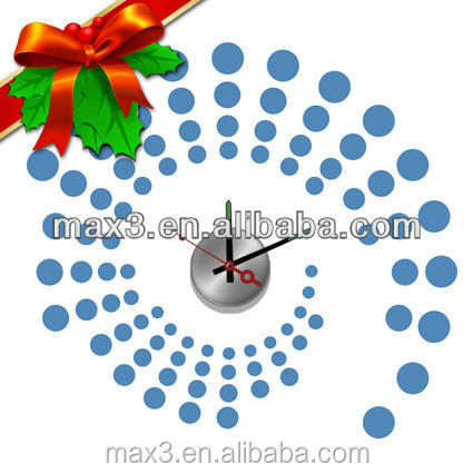 Meeting room wall clock brand watches replica for christmas decoration