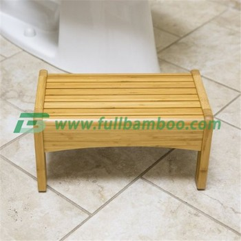 Bamboo Bath Bench Child Step Stool