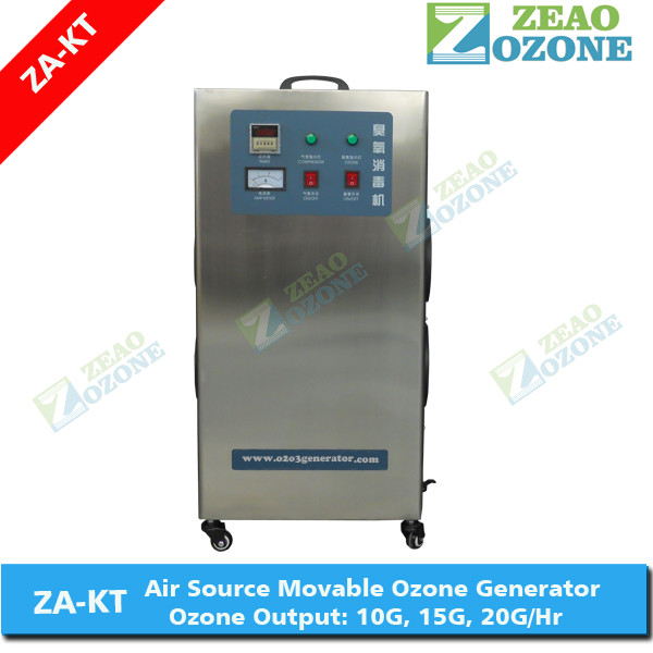 ZA-KT stainless steel ozone generator for water treatment plant/ozone generator air purifier/ozone sterilizer