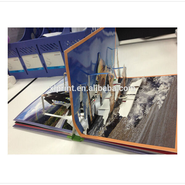 Fashionable 3D Pop up book printing service,3d book