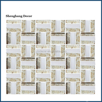 Kitchen wall decoartions mosaic glass tile backsplash