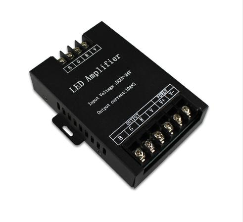 DC5-24V 30A RGB LED Amplifier for  Flexible LED Strip Power Repeater Console Controller