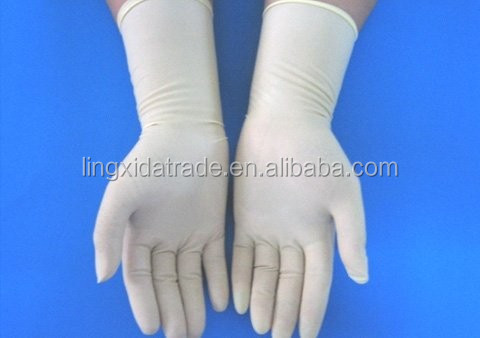 textured powder free disposable latex exam gloves latex
