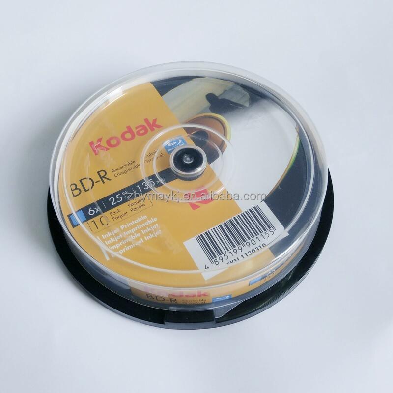 25 pcs Optical/Quantum/6X 25GB/BD‐R/Silver Top