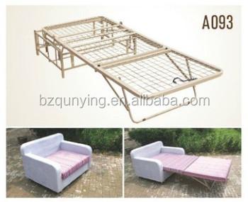 Metal Foldable Futon Sofa Bed Frame