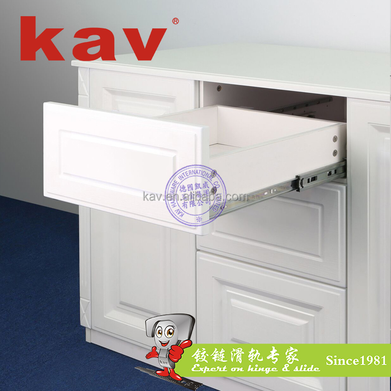 new slides furniture hardware automatic drawer slides electronic ball bearing slides (E45315)