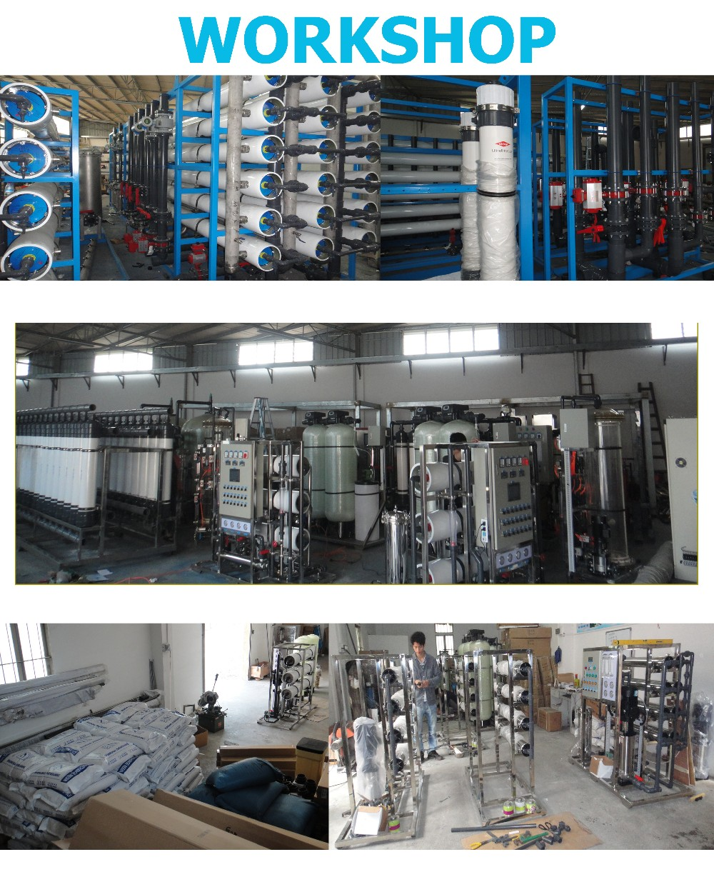 400GPD Commercial RO water plant