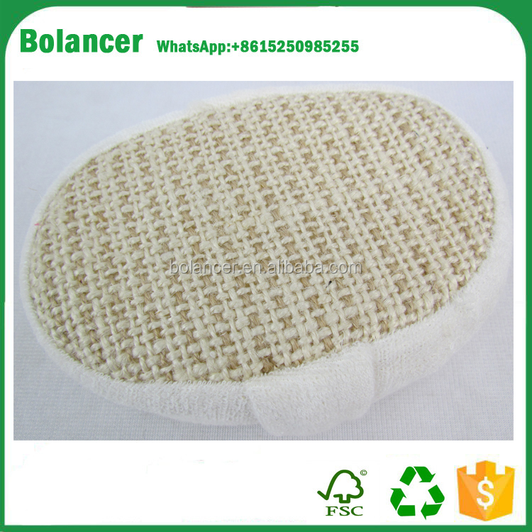 high quality hotel disposable bath loofah/loofah bath pad/spa loofah sponge