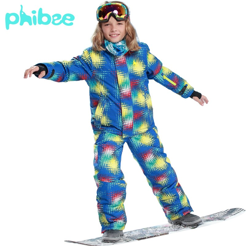 ea8044221e66 2016 New Russian Winter Children Clothing Sets Boys Ski Suit Outdoor ...