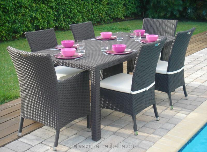 Todo tiempo rattan sintetico kd outdoor comedor muebles-Conjuntos de jardín -...