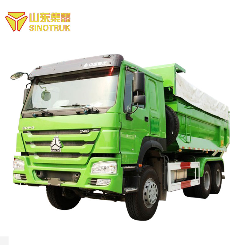 Chine fournisseur sinotruk howo 6 roue camion à benne basculante philippines