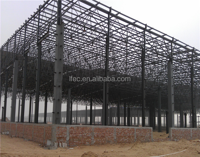 Prefabricated Steel Structure Pre Engineered Steel Build