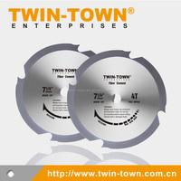 Fiber Cement Cutting PCD Saw Blade 7-1/4-Inch 4 Teeth Polycrystalline Diamond (7-1/4