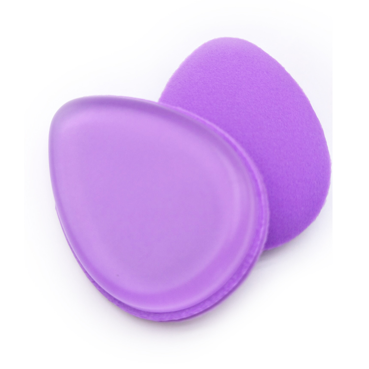 Alibaba Hot Selling Double Side Silicone and Latex Free Makeup Puff Sponge