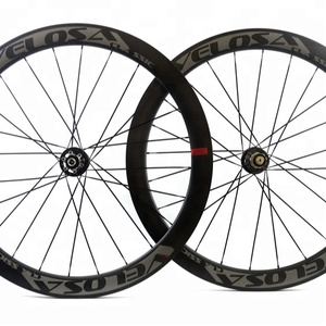 Chinese 700c Disc Brake Carbon bicycle racing 50mm wheels with NOVATEC D791SB hub