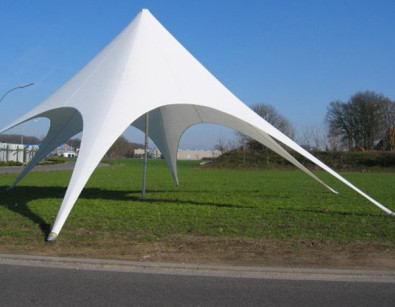 Outdoor Mutifunctional Foldable Star Shaped Wedding Tent