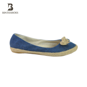 2015 Alibaba china Wholesale women espadrilles canvas shoes top selling products