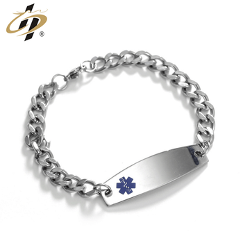 Factory customized cheap titanium steel jewelry bracelets for women