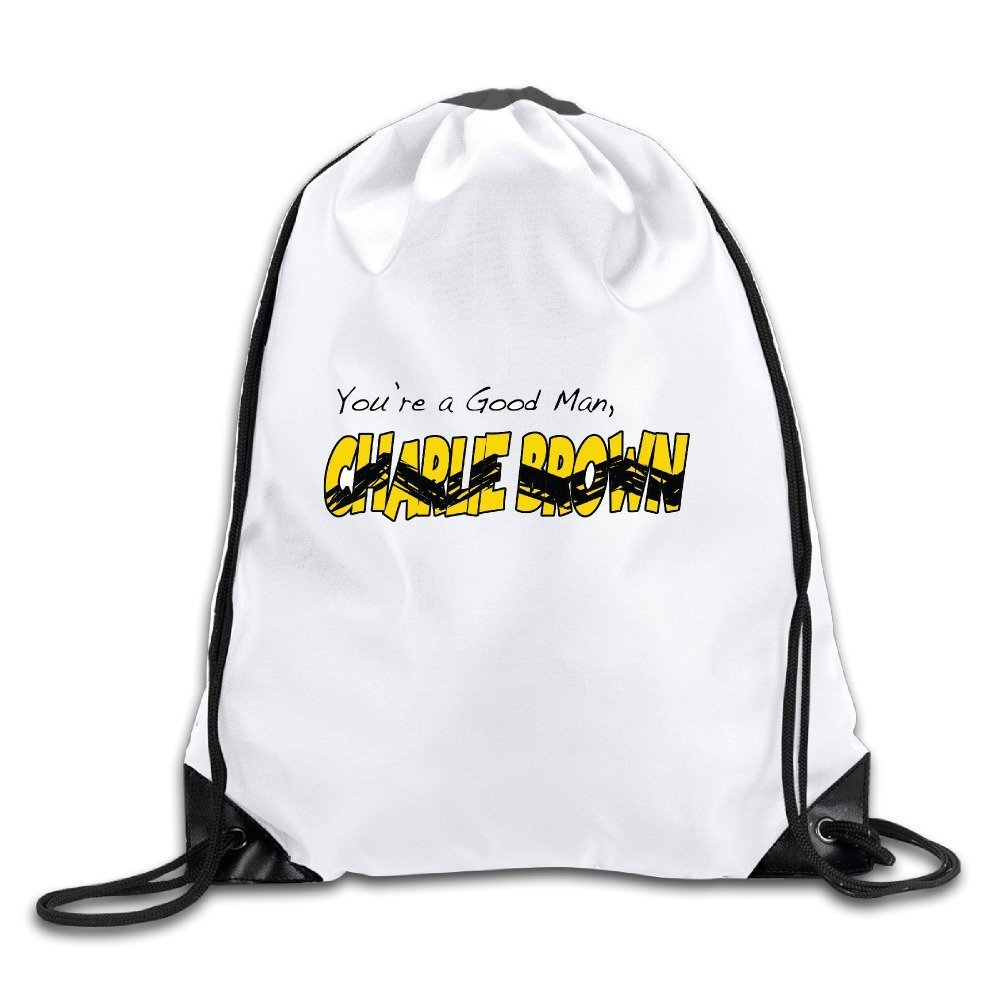 346f282a42 Get Quotations · Waterproof Breathability Customized Charlie Brown Sally  Brown Snoopy American Drawstring Backpack Travel Bag Drawstring Backpack