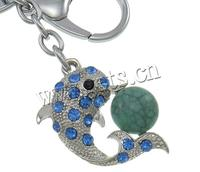 Zinc Alloy Dolphin Taxco Silver Ring Turquoise 783516