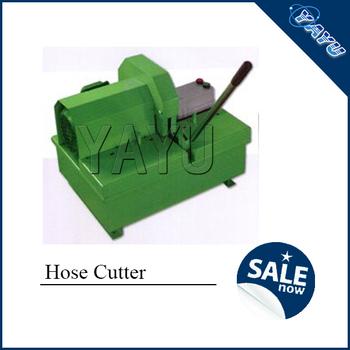 hydraulic hose cutting machine