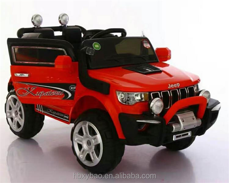 Great battery operated ride on toy car new model kids jeep big kids electric car