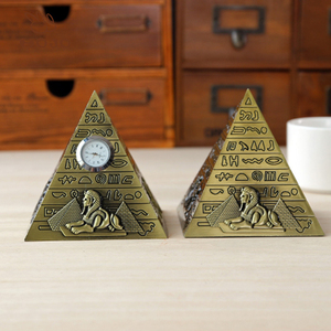 Pyramids of Egypt Pyramid desert pharaoh picture pyramid metal crafts new