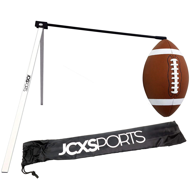 5119ec6acd0d Get Quotations · JCXSPORTS Football Kicking Tee - Field Goal Football Place  Holder - Pro Kickoff Post