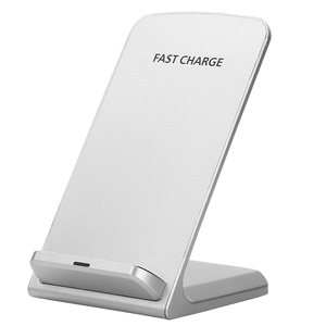 Portable mobile stand qi wireless charger 5W 10W for Samsung for iPhone