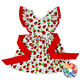 Cute Baby Cotton Frock Design For 3 Years Old Girl Wear Ruffle Red Ribbon Child Dress Model Summer Frock Designs