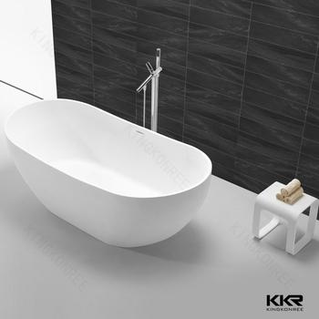 Cheap Artificial Round Stone Bathtub